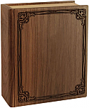 Companion Wood Book Cremation Urn
