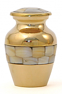 Keepsake Mother of Pearl Cremation Urn
