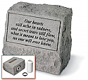 Pet Marker and Cremation Urn