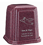 Temple Millennium Granite Cremation Urn