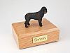 Portuguese Water Dog Dog Figurine Cremation Urn