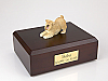 Wheaten Soft Coated Dog Figurine Urn