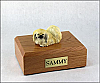 Pekingese Sleeping Dog Figurine Cremation Urn