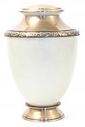 Artisan Pearl Brass Cremation Urn