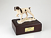 Pointer Dog Figurine Cremation Urn