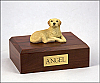 Labrador, Yellow Sleeping Dog Figurine Cremation Urn