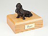 Basset Hound Bronze Sitting Dog Figurine Cremation Urn