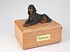Gordon Setter Dog Figurine Cremation Urn