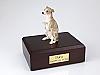 Whippet, Gray Dog Figurine Cremation Urn