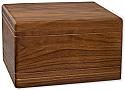 Walnut Boxwood Companion Cremation Urn