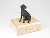 Great Dane, Bronze - ears down Dog Figurine Cremation Urn