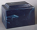 York Navy Cultured Marble Cremation Urn