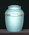 Pewter Green Verde Cremation Urn
