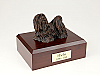 Maltese, Bronze Dog Figurine Cremation Urn