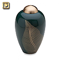 Elegant Leaf Pet Cremation Urns