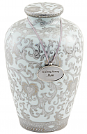 Grandiose Porcelain Cremation Urn