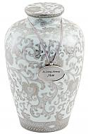 Grandiose Porcelain Cremation Urn