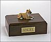Pit Bull, Tan Dog Figurine Cremation Urn