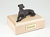 Greyhound/Whippet, Bronze Dog Figurine Cremation Urn