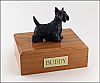 Scottish Terrier Black Standing Dog Figurine Cremation Urn
