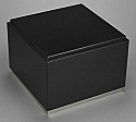 Immensita II Black Granite Companion Cremation Urn with Trim