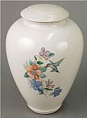 Tivoli II Porcelain Cremation Urn