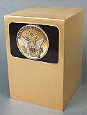 Great Seal Bronze Cremation Urn