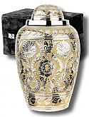 Dynasty SilverGold Cremation Urn