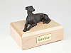 Whippet-Greyhound, Bronze Dog Figurine Cremation Urn