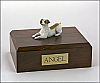 Jack Russell Terrier, Brown  Dog Figurine Cremation Urn
