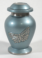 Butterfly Brass Urn Keepsake