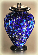 Amato Art Glass Small Cremation Urn