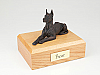 Great Dane, Bronze - ears up  Dog Figurine Cremation Urn