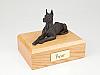 Great Dane, Bronze - ears up  Dog Figurine Cremation Urn