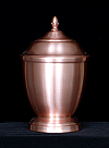 Copper Morgan Cremation Urn
