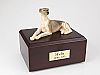 Greyhound Dog Figurine Cremation Urn