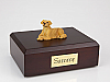Golden Retriever Laying Dog Figurine Cremation Urn