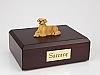 Golden Retriever Laying Dog Figurine Cremation Urn