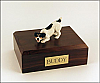 Jack Russell Terrier, Black Dog Figurine Cremation Urn
