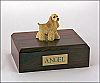 Spaniel Cocker , Buff Standing Dog Figurine Cremation Urn