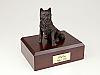 Husky, Bronze  Dog Figurine Cremation Urn