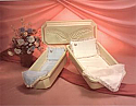 Small Dog or Cat Casket Combo Interior