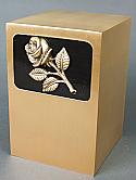 Rose Bronze Cremation Urn