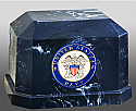 Navarro US Navy Cultured Marble Cremation Urn
