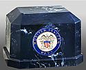 Navarro US Navy Cultured Marble Cremation Urn