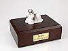 Shih Tzu, Gray-White  Dog Figurine Cremation Urn