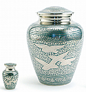Going Home Brass Cremation Urn