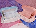 Pink or Blue Medium Pet Caskets