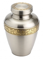 Saratoga Brass Keepsake Cremation Urn