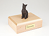 Siamese Bronze Cat Figurine Cremation Urn